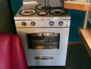 Cucina a gas stile anni 50 ornamentale vendita for Cucina stile anni 50