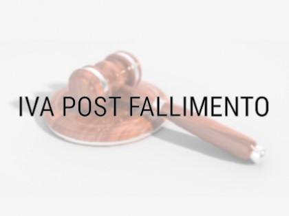 Fig 1 - Credito IVA maturato POST dich...