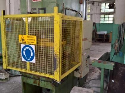 Fig 1 - Pressa idraulica LUCAS 50 ton