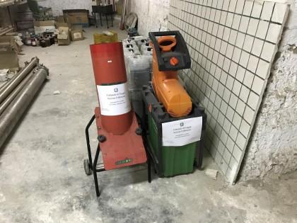 Fig 1 - Cippatore-tranciatore cilindri...