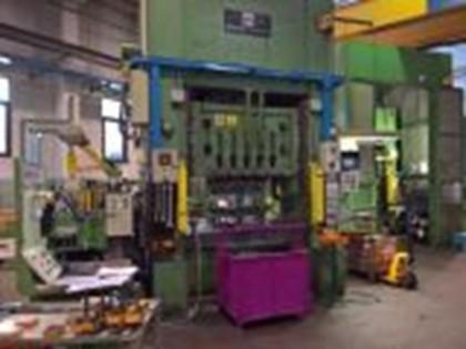 Fig 1 - Pressa meccanica Manzoni