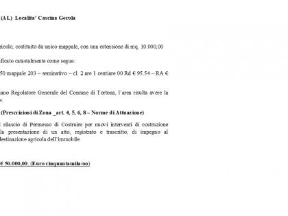 Fig 1 - TERRENO AGRICOLO CON ESTENSION...