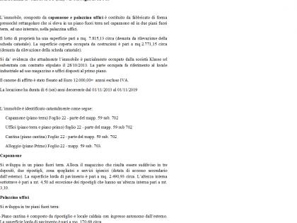 Fig 1 - IMMOBILE COMPOSTO DA CAPANNONE...