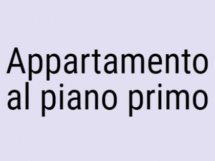 Fig 1 - Appartamento al piano primo co...