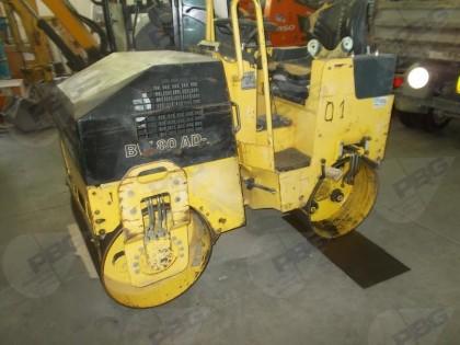 Fig 1 - Rullo ferro-ferro Bomag BW80AD...