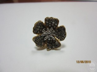 Fig 1 - ANELLO IN ORO GIALLO 18 KT