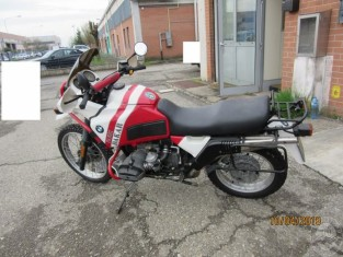 Fig 1 - MOTOCICLO MARCA BMW MODELLO R...