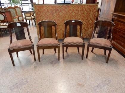 Fig 1 - Set n. 4 sedie gondole fine '8...