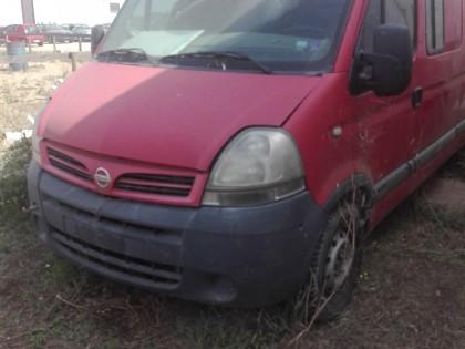 Fig 1 - Autocarro Nissan per trasporto...