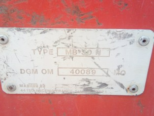 Fig 1 - Fig 2 - CARRELLO ELEVATORE MANITOU MB3...