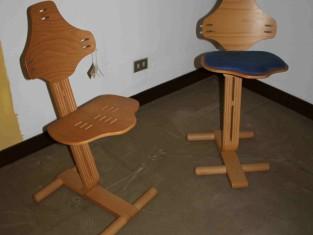 Rif zona qta coppia di sgabelli ergonomici vendita