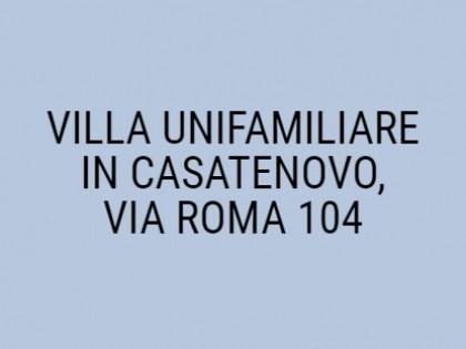 Fig 1 - Fig 1 - VILLA UNIFAMILIARE IN CASATENO...