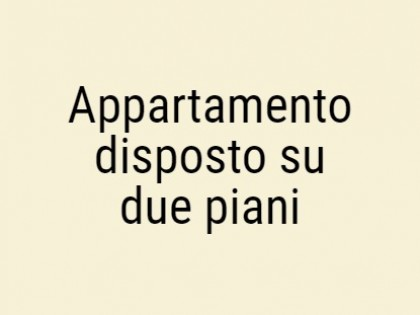 Fig 1 - Fig 1 - Appartamento disposto su due p...