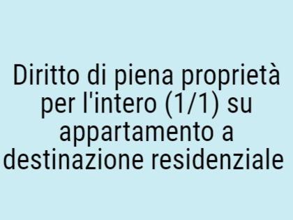 Fig 1 - Fig 1 - Diritto di piena proprietà per...
