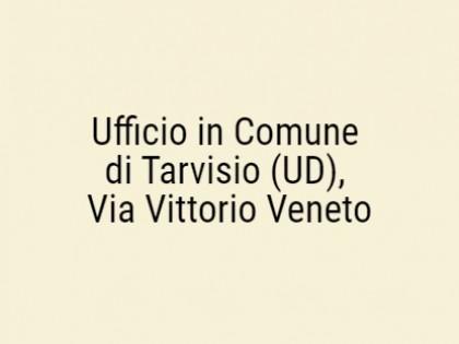 Fig 1 - Fig 1 - Ufficio in Comune di Tarvisio...