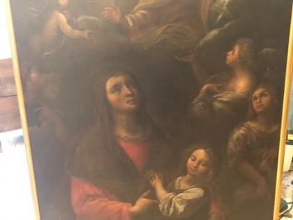Fig 1 - Fig 1 - Dipinto olio su tela raffigura...