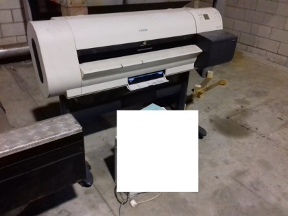Fig 1 - Fig 1 - PLOTTER MARCA CANON