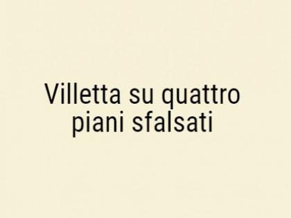Fig 1 - Fig 1 - Villetta su quattro piani sfal...