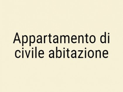 Fig 1 - Fig 1 - Appartamento di civile abitazi...
