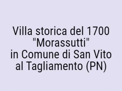 "Fig 1 - Fig 1 - Villa storica del 1700 ""Morass..."