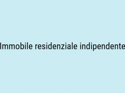Fig 1 - Fig 1 - Immobile residenziale indipend...