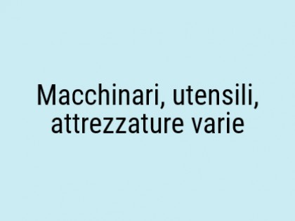 Fig 1 - Fig 1 - Insieme di beni mobili - macch...