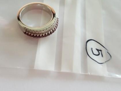 Fig 1 - Fig 1 - LOTTO 5: Anello in oro bianco...