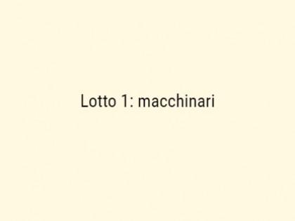 Fig 1 - Fig 1 - Macchinari