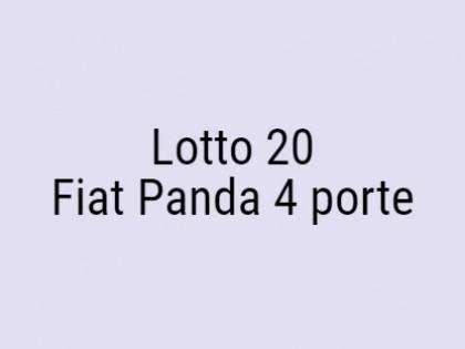 Fig 1 - Fig 1 - Fiat Panda 4 porte targata EK...