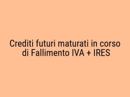 Fig 1 - Fig 1 - Lotto unico dei crediti fiscal...
