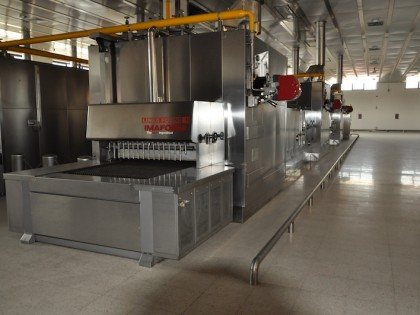 Fig 1 - Fig 1 - FORNO CONTINUO INDUSTRIALE