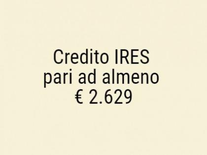 Fig 1 - Fig 1 - Credito IRES che emergerà dall...