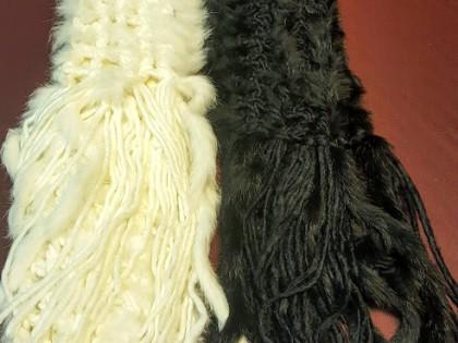 Fig 1 - Fig 1 - Sciarpe in Rabbit Fur e acrili...