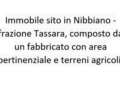 Fig 1 - Fig 1 - Immobile sito in Nibbiano - fr...