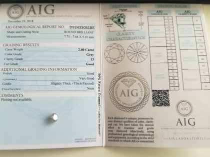 Fig 1 - Fig 1 - 6 - Diamante ct 2,00