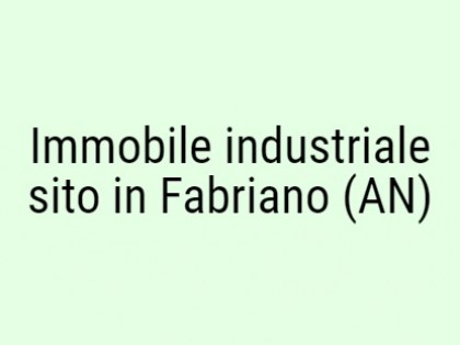 Fig 1 - Fig 1 - Immobile industriale