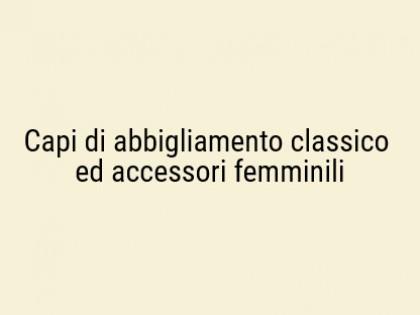 Fig 1 - Fig 1 - Capi di abbigliamento classico...