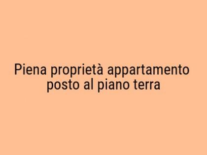 Fig 1 - Fig 1 - Piena proprietà appartamento p...