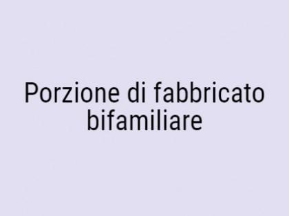 Fig 1 - Fig 1 - PORZIONE DI FABBRICATO BIFAMIL...
