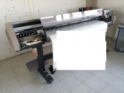 Fig 1 - Fig 2 - plotter industriale per stampa...