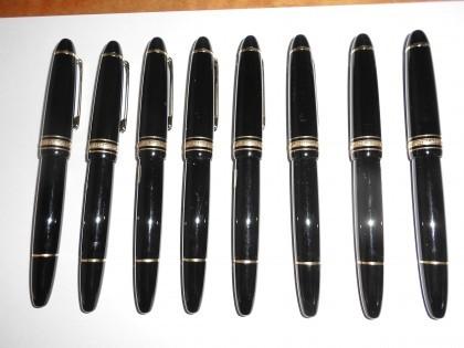 Fig 1 - Fig 1 - n. 8  penne Montblanc serie Me...