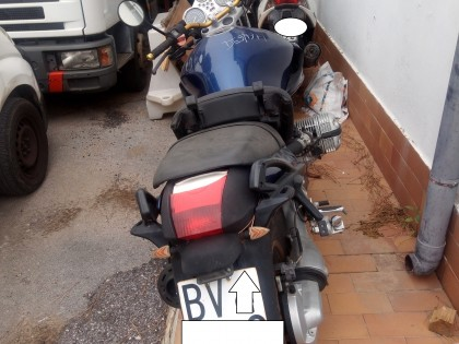 Fig 1 - Fig 1 - MOTOCICLO BMW 1150 R TG. BV XX...