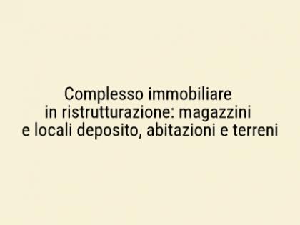 Fig 1 - Fig 1 - Lotto: Complesso immobiliare i...