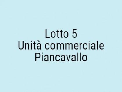 Fig 1 - Fig 1 - Unità Commerciale. Piano Terra...
