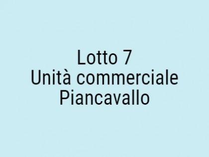 Fig 1 - Fig 1 - Lotto: Unità Commerciale. Pian...