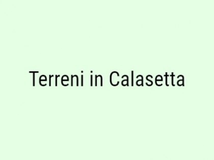 Fig 1 - Fig 1 - Terreni Calasetta: