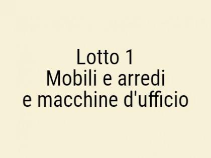 Fig 1 - Fig 1 - MOBILI E ARREDI E MACCHINE D'U...