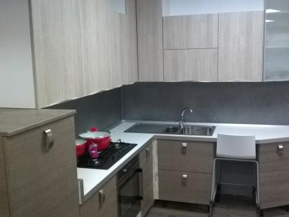 Fig 1 - Fig 1 - Cucina ARTEC in grigio spazzol...