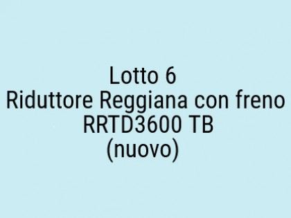 Fig 1 - Fig 1 - Riduttore Reggiana con freno R...