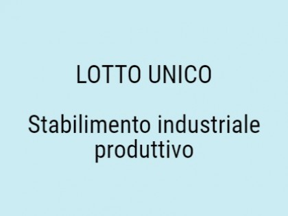 Fig 1 - Fig 1 - Stabilimento industriale produ...